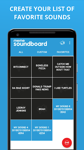 Meme Soundboard by ZomboDroid 3 تصوير الشاشة