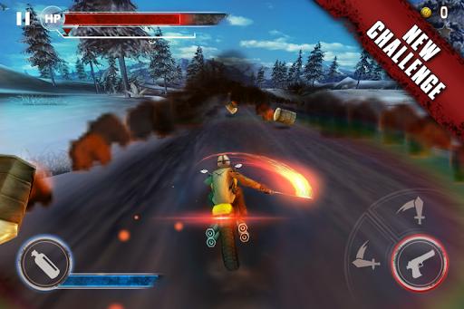 Death Moto 3 : Fighting Bike Rider 3 تصوير الشاشة