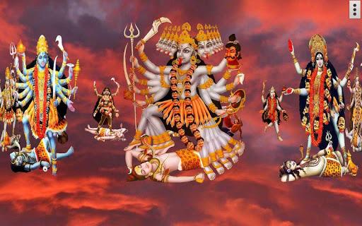4D Maa Kali Live Wallpaper 6 تصوير الشاشة