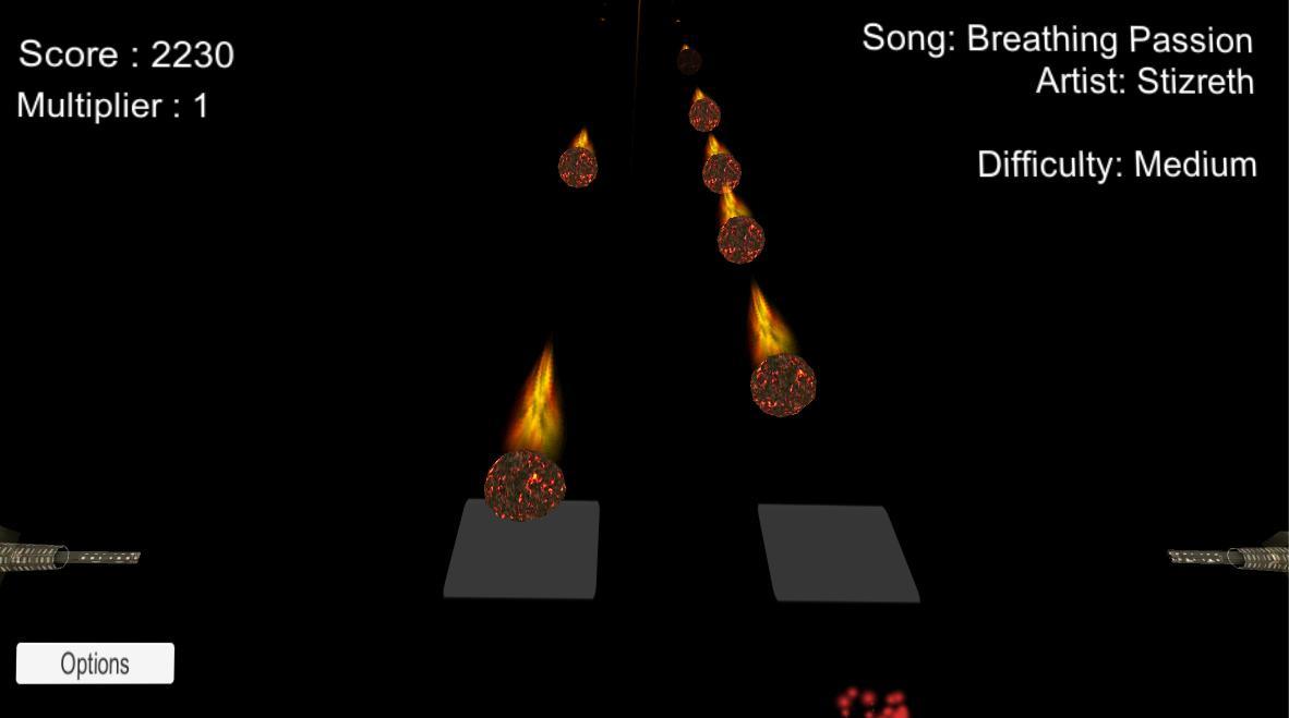 Meteor Rhythm 3 تصوير الشاشة