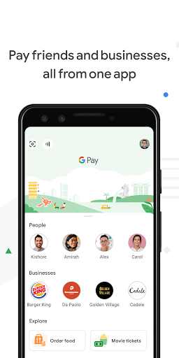 Google Pay - a simple and secure payment app 1 تصوير الشاشة