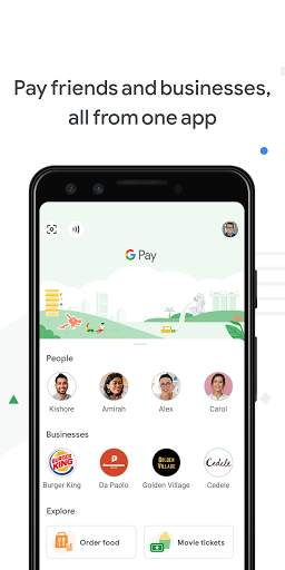 Google Pay - a simple and secure payment app screenshot 1