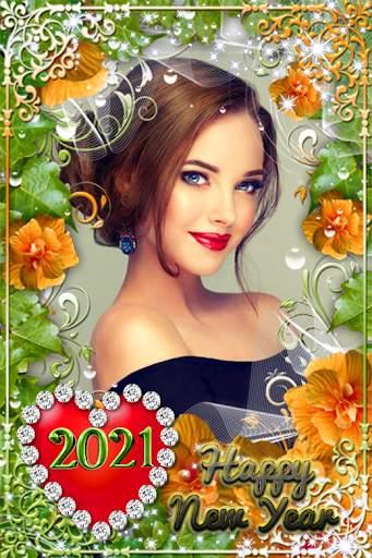New Year Photo Frame  2021 screenshot 24