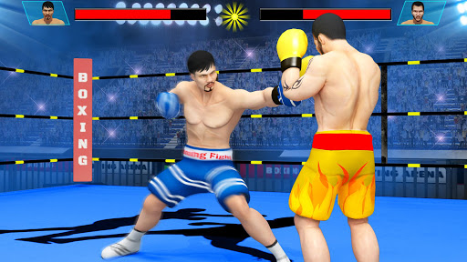 Real Punch Boxing Games: Kickboxing Super Star screenshot 1