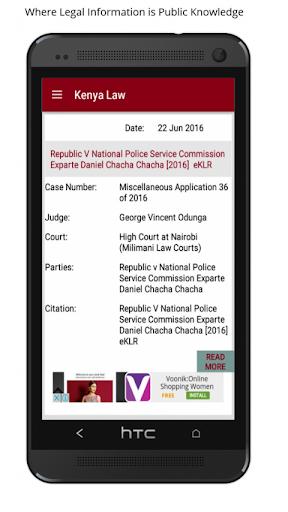 Kenya Law screenshot 1