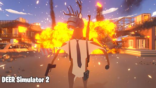 Deer Simulator 2 Game - Hero Gangster Crime City screenshot 3