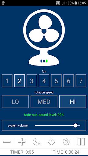 Fan Noises For Sleeping - White Noise Fan Sounds screenshot 3