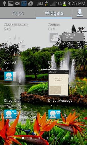 Park Fountains LWP screenshot 3