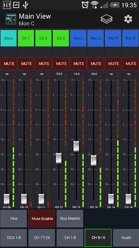 Mixing Station XM32 screenshot 2