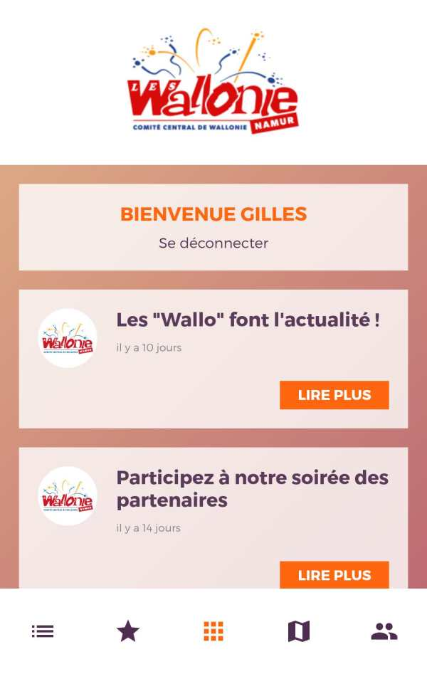 Fêtes de Wallonie 2 تصوير الشاشة