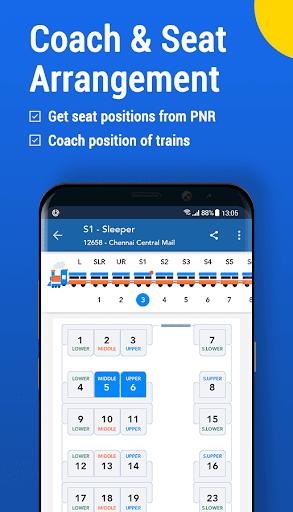 Where is my Train : Indian Railway Train Status screenshot 4