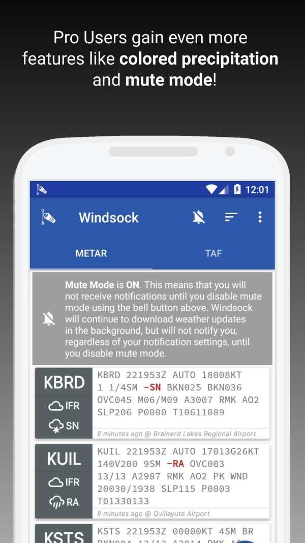 Windsock - Automatic METAR/TAF screenshot 6