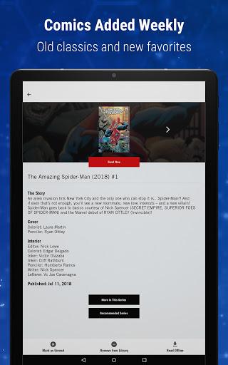 Marvel Unlimited 22 تصوير الشاشة