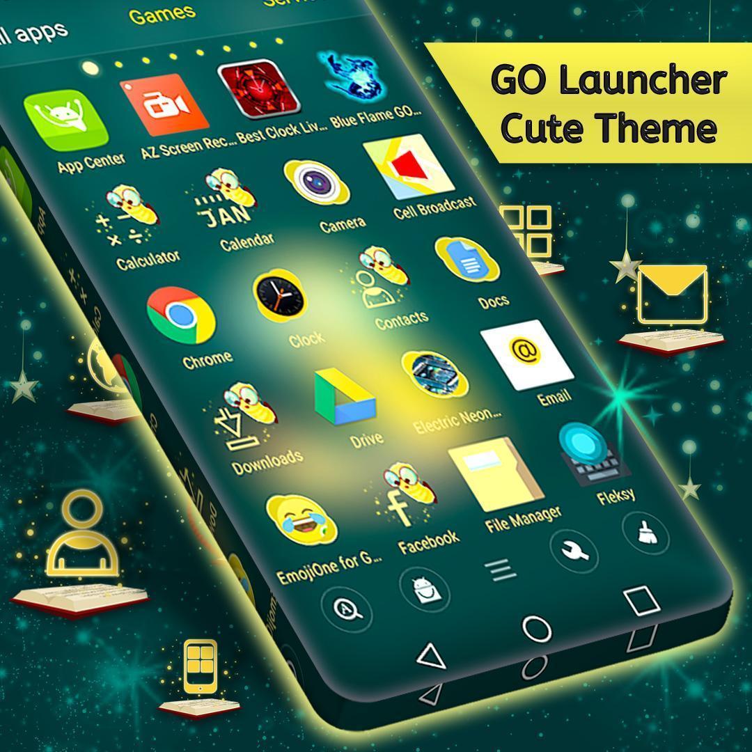 Cute Theme For Launcher 2 تصوير الشاشة