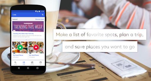 Foursquare City Guide screenshot 2