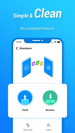 Share Karo.ly King: File transfer securely. screenshot 1