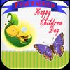 Children day greetings أيقونة
