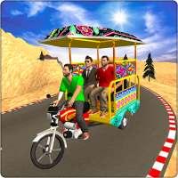 Chingchi Rickshaw Game:Tuk Tuk Parking Simulator on 9Apps
