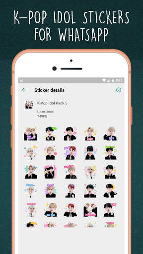 K-Pop Idol WAStickerapps screenshot 6