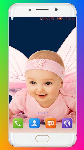 Cute Baby Wallpaper screenshot 5