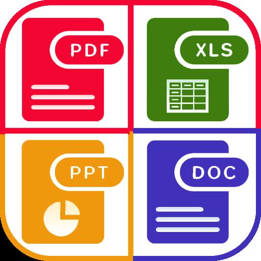 WPS PDF, Word, Excel,PowerPoint Office Suite, 2020 أيقونة