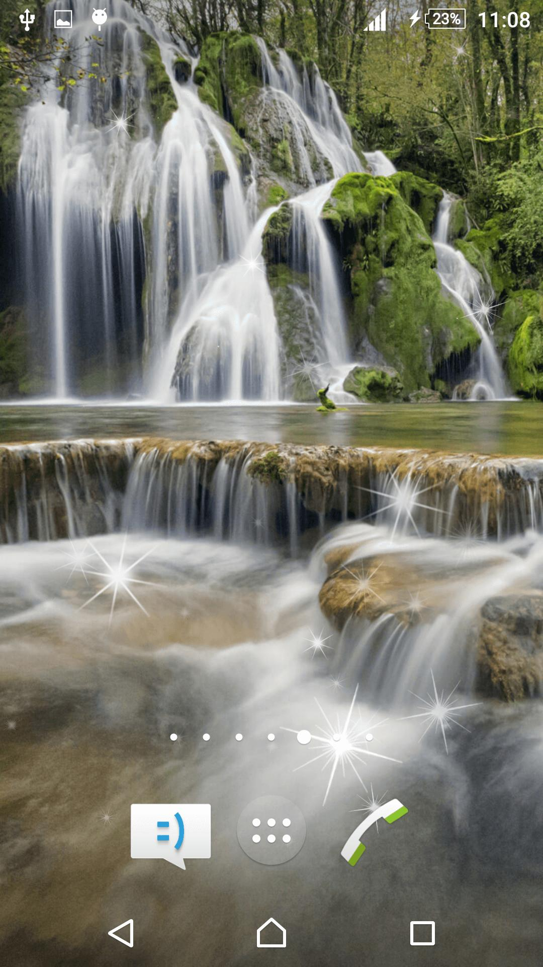Waterfall Live Wallpaper screenshot 4