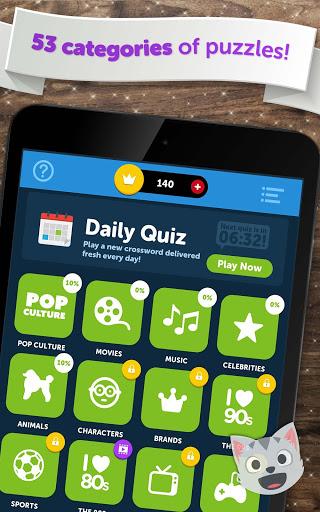 Crossword Quiz - Crossword Puzzle Word Game! 19 تصوير الشاشة