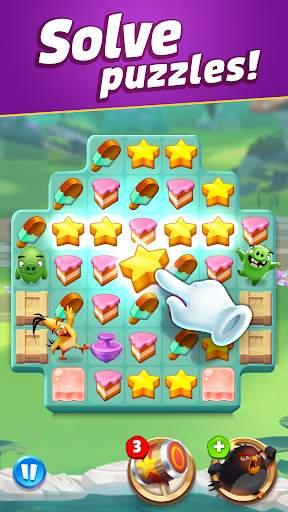 Angry Birds Match 3 screenshot 4