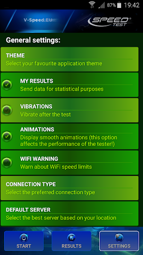 Internet Speed Test 6 تصوير الشاشة