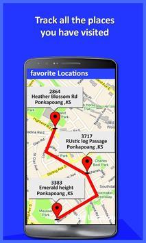 Mobile Location Tracker 2020 1 تصوير الشاشة