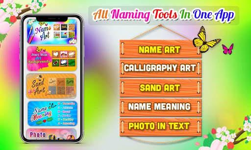 Name Art Photo Editor - 7Arts Focus n Filter 2020 screenshot 1
