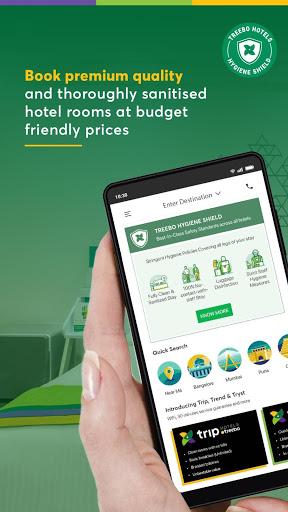 Treebo: Hotel Booking App | Book Safe Stays 1 تصوير الشاشة