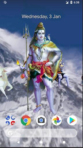4D Shiva Live Wallpaper 3 تصوير الشاشة