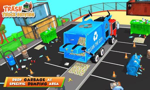 Urban Garbage Truck Driving - Waste Transporter screenshot 6