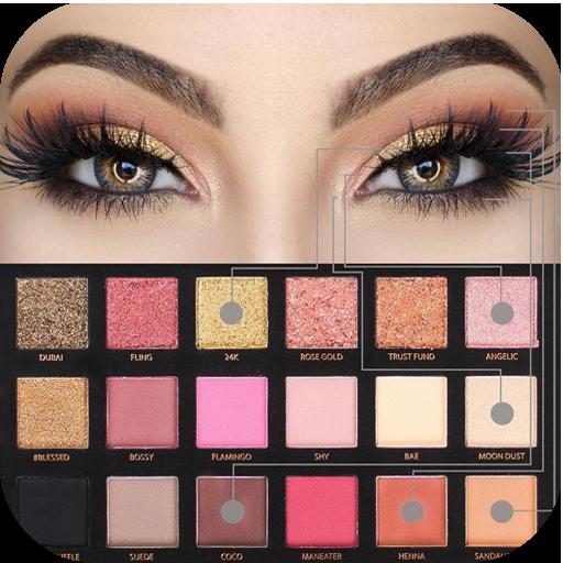 ikon Step by step makeup (lip, eye, face) 💎