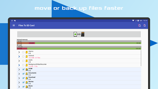 Files To SD Card 16 تصوير الشاشة