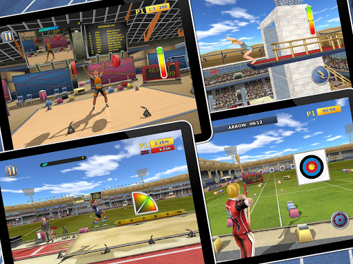 Athletics2: Summer Sports Free screenshot 13