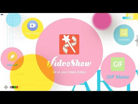 VideoShowLite: محرر الفيديو ، والصور ، والموسيقى 1 تصوير الشاشة