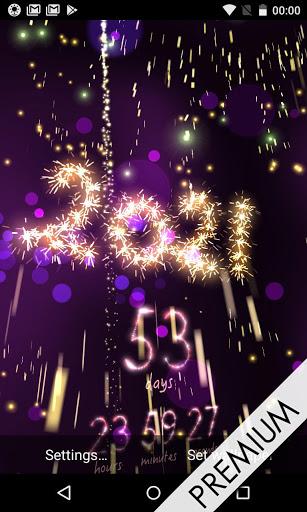 New Year 2021 countdown 7 تصوير الشاشة