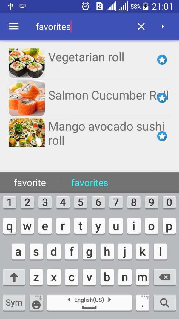 Sushi Rolls Recipes Free скриншот 6