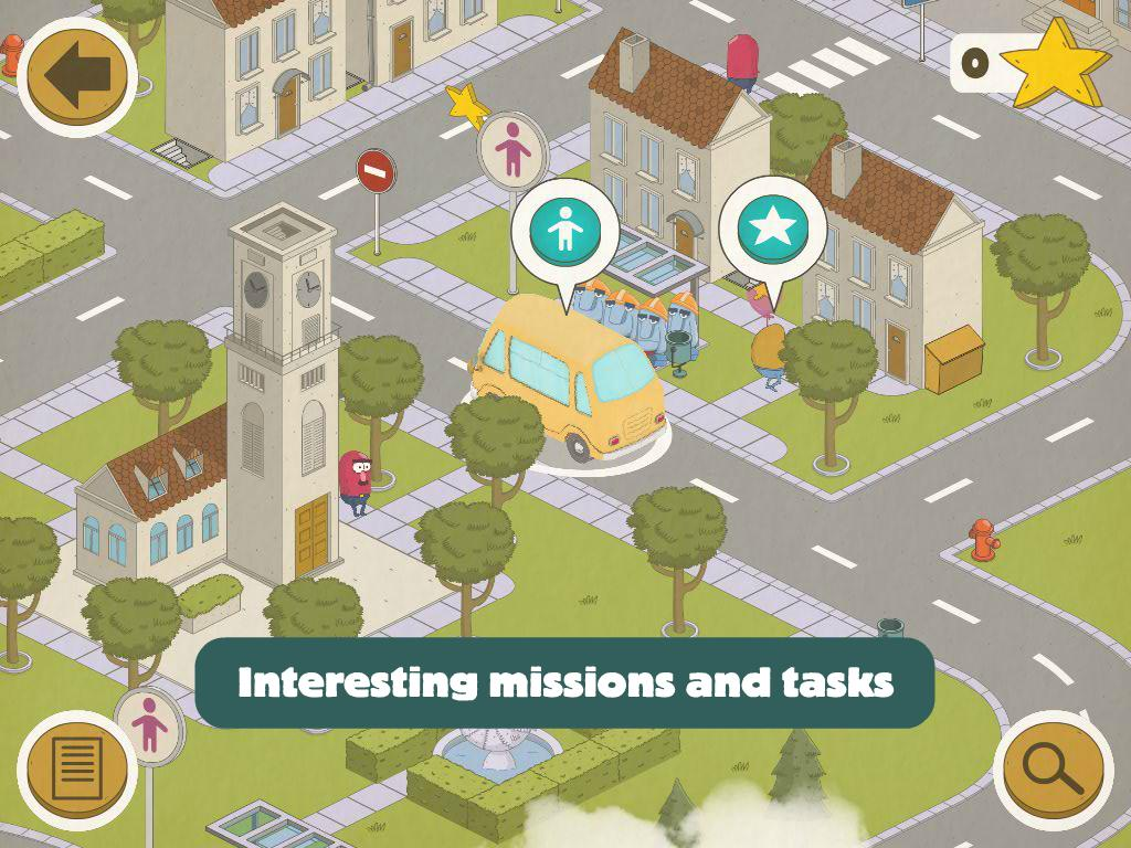Busy Wheels: City Bus screenshot 11