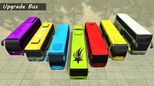 Bus Racing : Coach Bus Simulator 2021 स्क्रीनशॉट 7