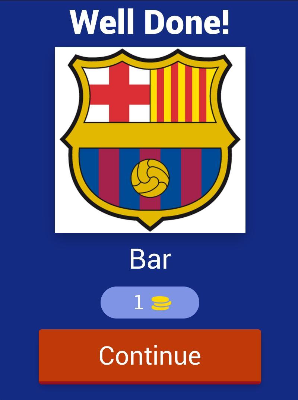 Football Club Logo : Short Name Quiz 2 تصوير الشاشة
