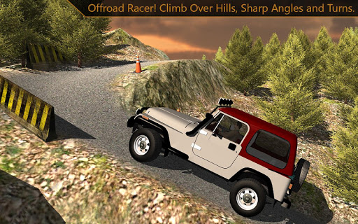 Offroad Jeep mountain climb 3d screenshot 2