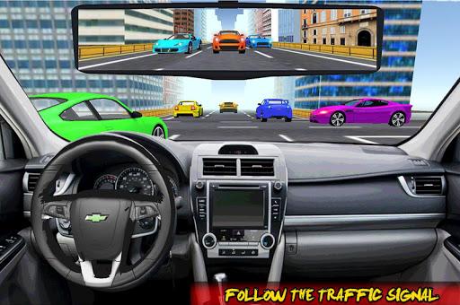Racing In Car Traffic Drive screenshot 8