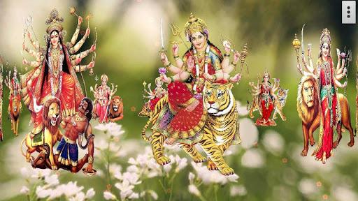 4D Maa Durga Live Wallpaper 13 تصوير الشاشة