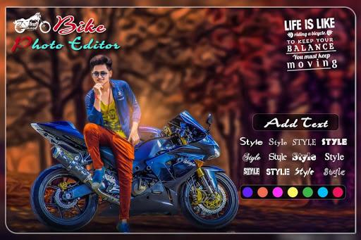 Bike Photo Editor: Bike Photo Frames screenshot 2