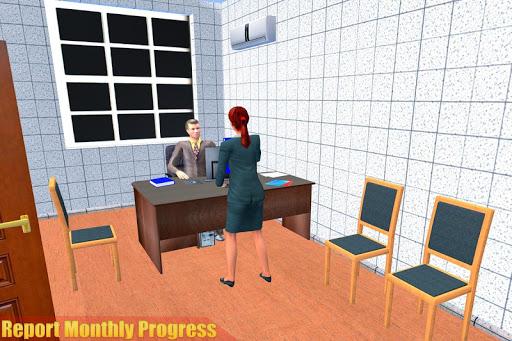 الظاهري مدرسة ثانوية المعلم 3D 8 تصوير الشاشة