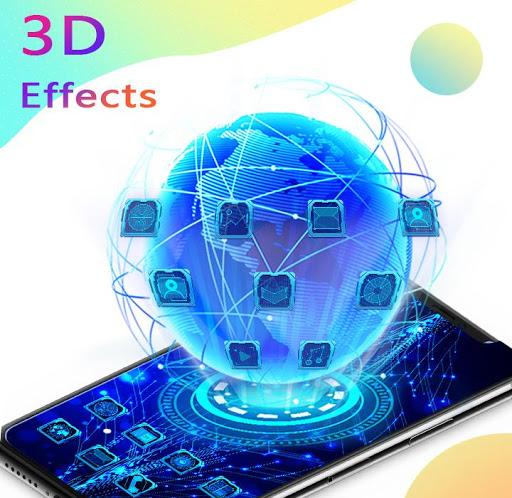 U Launcher 3D: New Launcher 2020, 3d themes 1 تصوير الشاشة