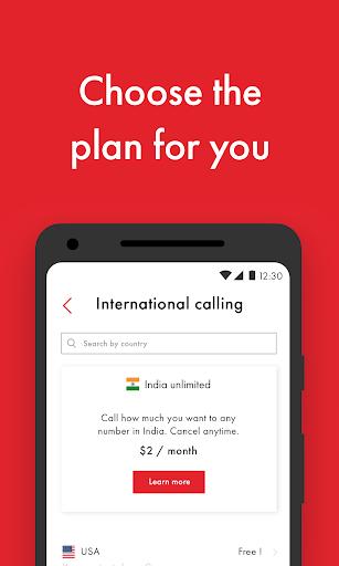 تطبيق Rebtel: مكالمات دولية رخيصة 6 تصوير الشاشة